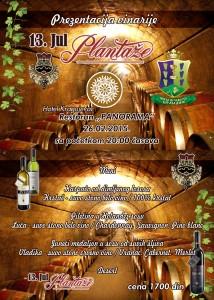 promocija PLANTAZE-vinsko vece